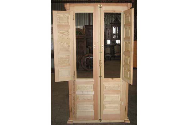 3 1 puerta balconera serie economica derribos sales - Puertas economicas de madera ...