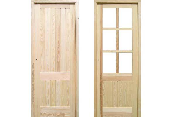 2 5 puerta mod machiembrada derribos sales for Precio puertas interior madera maciza