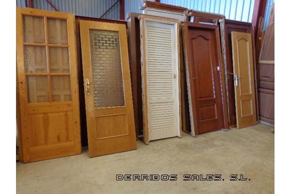 Puertas de interior derribos sales for Puertas para casas antiguas
