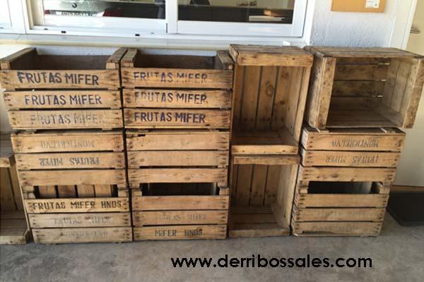 Cajones de madera derribos sales for Manualidades con cajones de madera