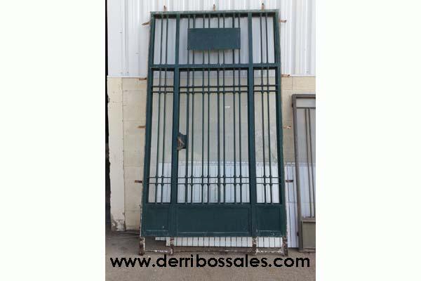 Puertas metalicas de segunda mano puerta garaje diseo for Puerta hierro segunda mano