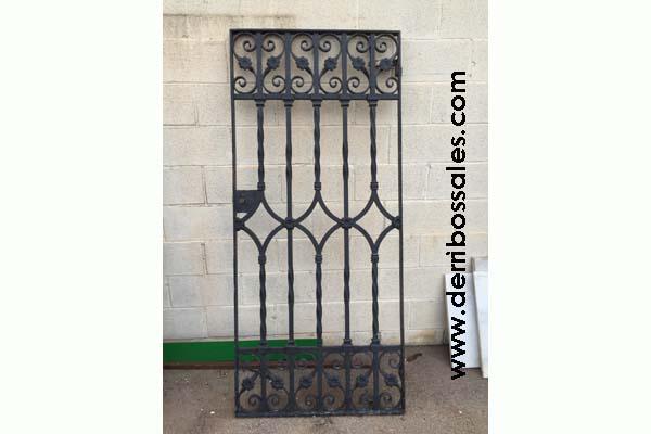 Materiales de derribos derribos sales part 4 - Puertas hierro forjado exterior ...