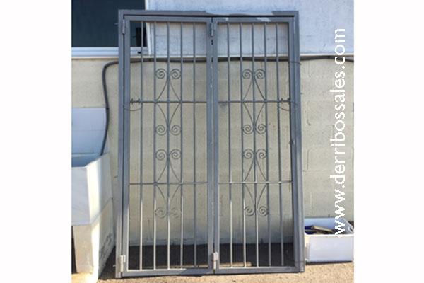 Puertas de hierro forjado segunda mano simple stunning puertas puertas correderas hierro - Puertas de entrada de segunda mano ...