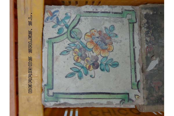 de ceramica, recuperados, muy antiguos.