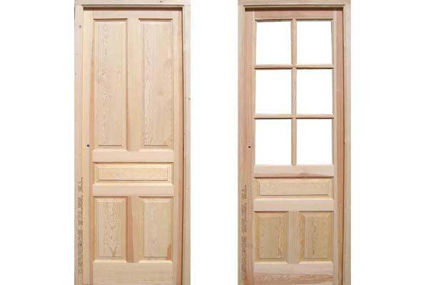 puerta de nueva fabricacion en 3,5 cm. de grosor.