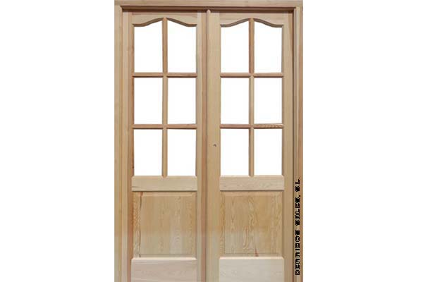 2 4 puerta mod provenzal derribos sales for Puertas madera y cristal interior