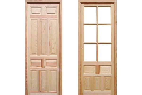 2 1 puerta mod postigo derribos sales for Precio puertas interior madera maciza