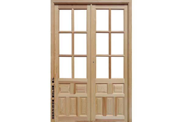 Puertas interior derribos sales for Puertas antiguas dobles