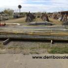 Tubo redondo galvanizado. Los tubos redondos se puede cortar para hacer piquetas para vallados, emparrados, etc... Los hay de 3 a 6 metros de largos.