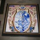 antiguedades-azulejos-cuadro-enmarcados