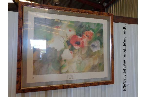 antiguedades-cuadro-lamina-flores