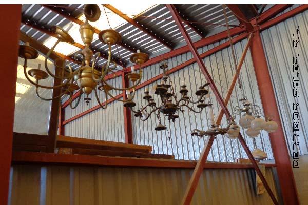 lamparas y plafones de varios estilos