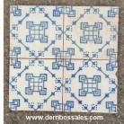 Azulejos de cerámica recuperados de derribo, de diversas épocas. Medidas 20 x 20 aprox. Azulejos antiguos. También disponibles cuadros de azulejos antiguos.