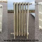 Radiadores antiguos de fundición. Varios tamaños. Los radiadores de fundición se venden por módulos. Disponibles con y sin patas.