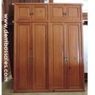 puertas de armario empotrado de madera maciza de mobila
