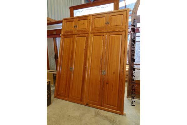 de madera de mobila, antiguo