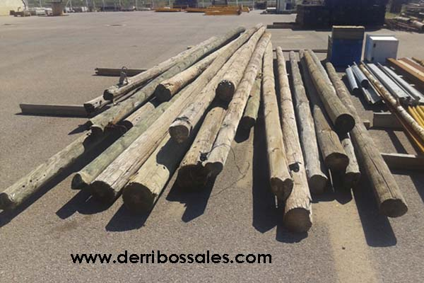 Postes redondos derribos sales - Postes de madera ...