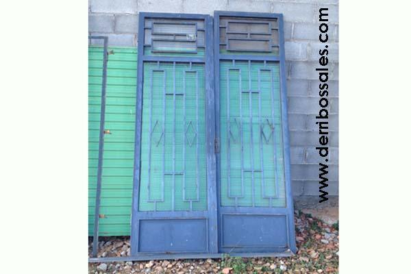 Puerta de hierro derribos sales - Puertas de derribos ...