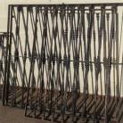 Rejas macizas de varias medidas: 96 x 115; 93 x 175 ; 97 x 179 ; 134 x 95 ; 136 x 150 y 135 x 145 cm. Se venden por separado.