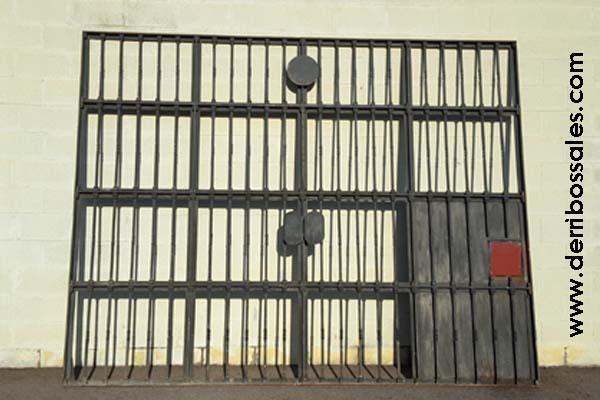 Magníficas puertas de hierro, macizas. Las dimensiones son: 267 x 340 cm. Estas puertas de hierro se venden por separado. Sólo 2 Unidades.
