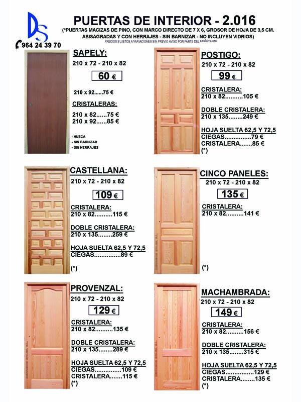 puertas nuevas en castellon