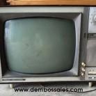 Televisor antiguo. Ideal para decoración y tematización.