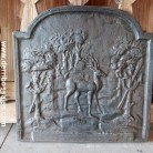 Placa de chimenea. Medidas; 51 x 51 cm.